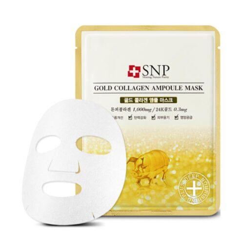 Mascarilla coreana SNP con colágeno y oro