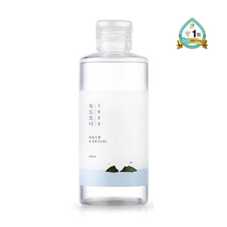 cosméticos coreanos tonico piel sensible