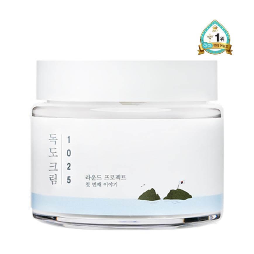 cosméticos coreanos Crema para piel sensible
