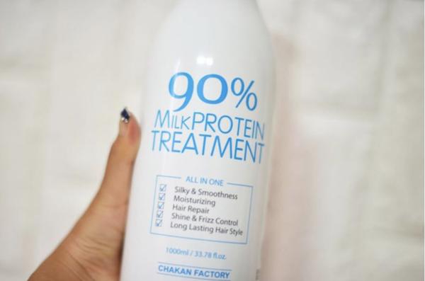 Reseña 90% Milk Protein Treatment