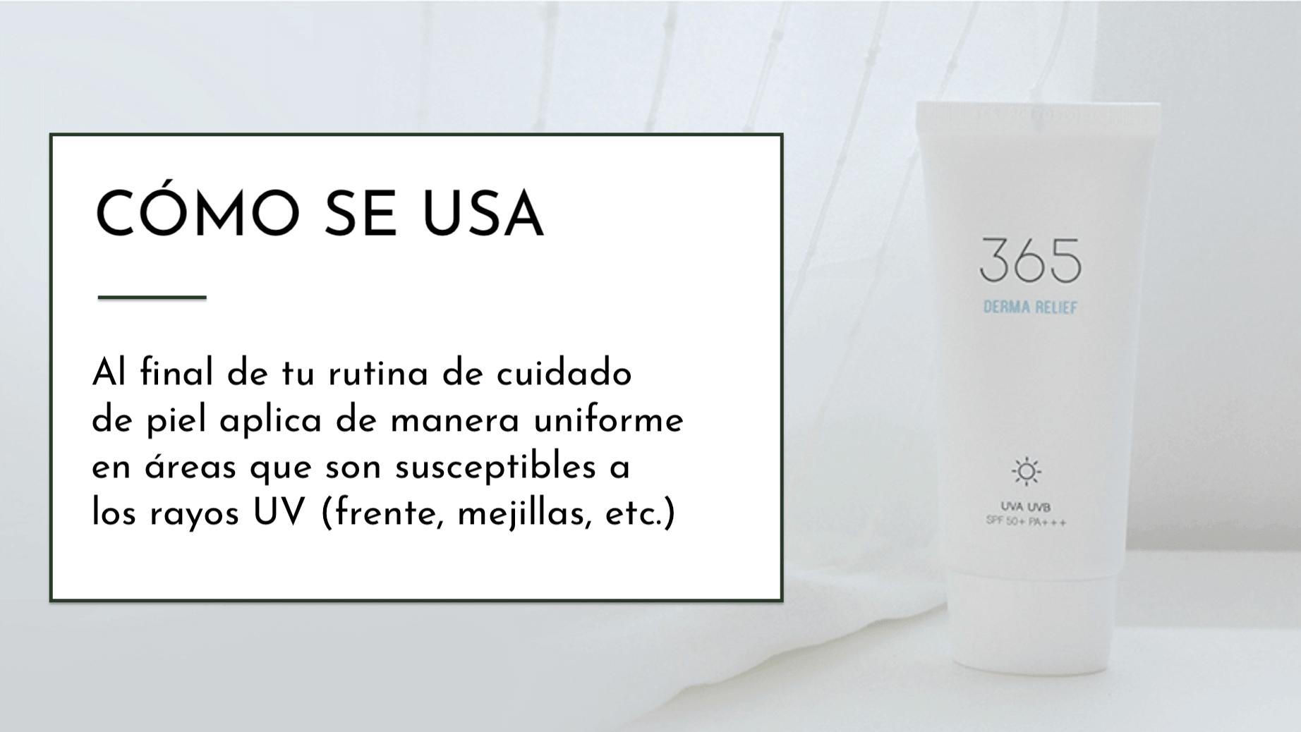 Como usar roundlab 365 derma relief sunscreen-min