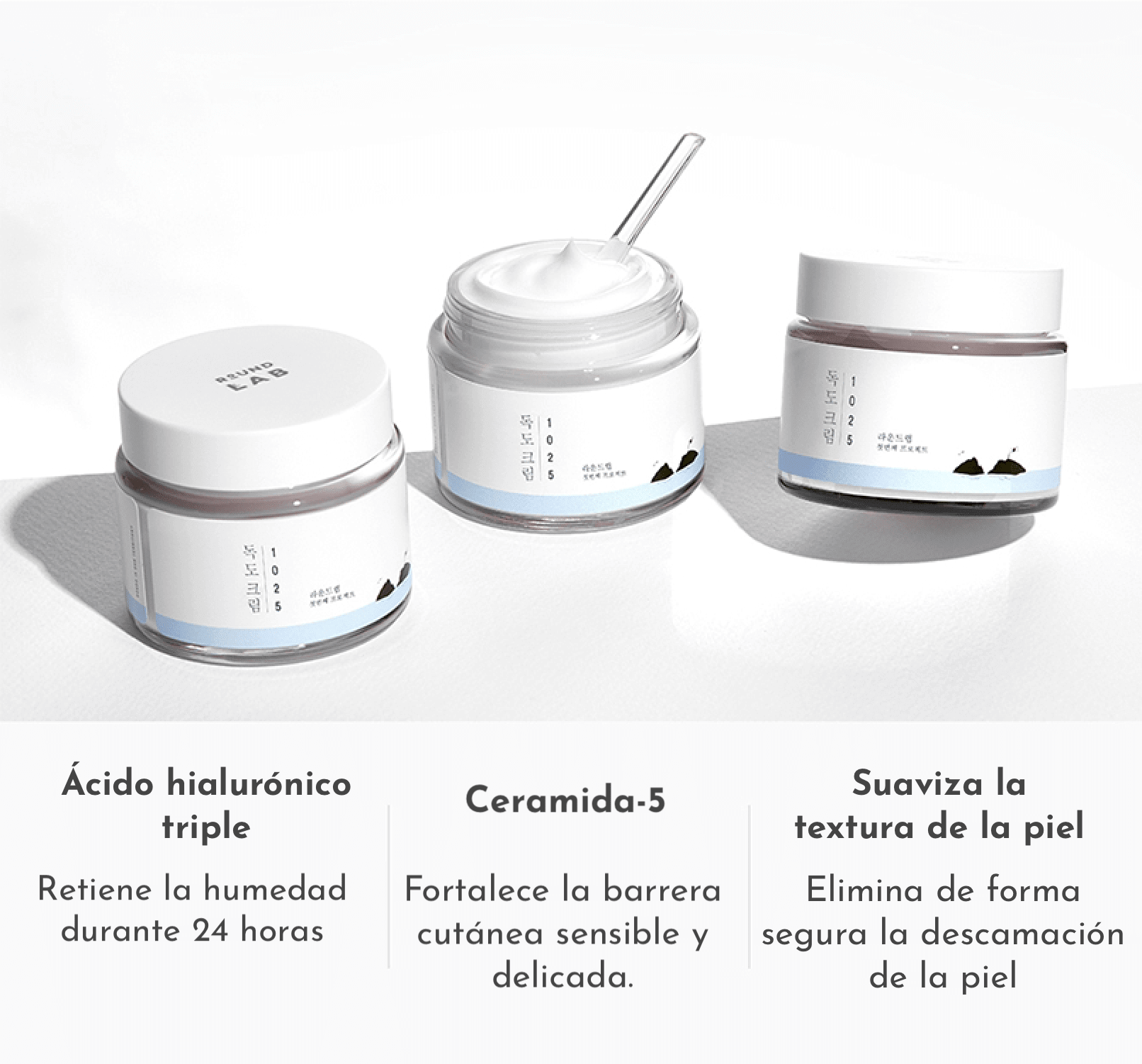 Crema para piel sensible con ingredientes calmantes