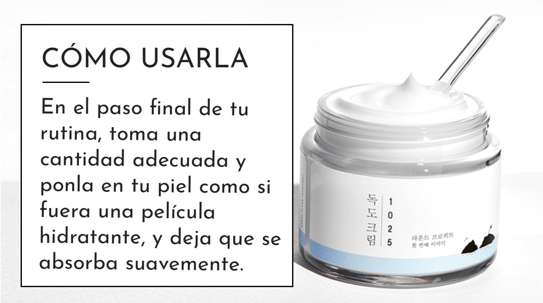 Crema para piel sensible facil de aplicar