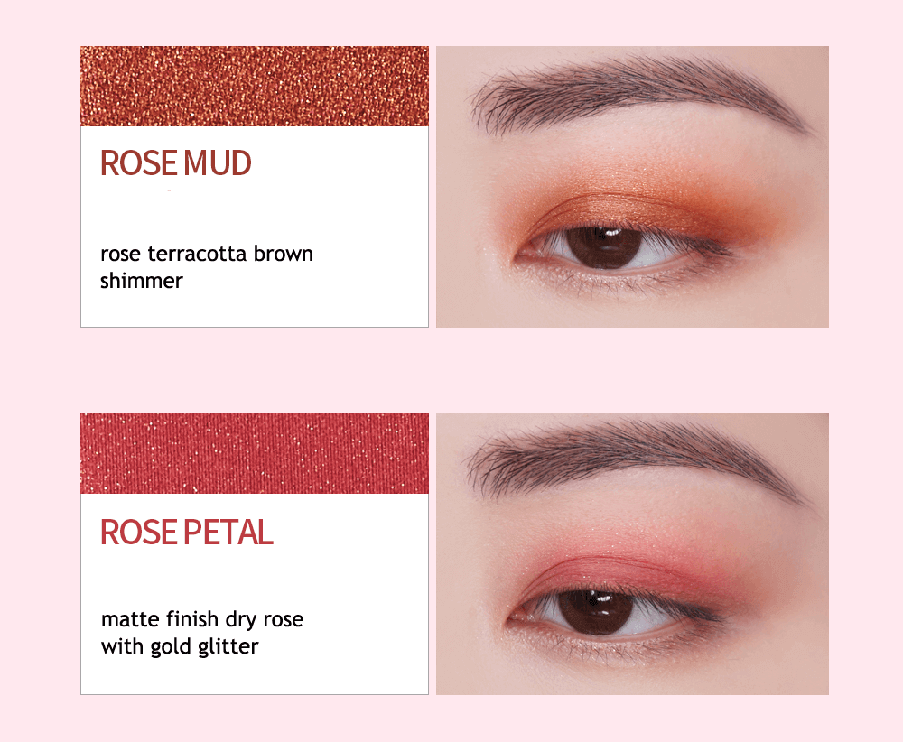 Holika Holika Eyeshadow Palette 04 Rose Sparkling